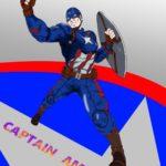 キャプテンアメリカcaptainamericaのイラスト