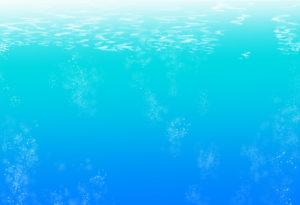 水中のイラスト