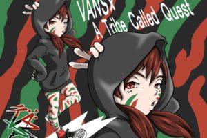 スニーカー「VANS×A Tribe Called Quest」のイラスト