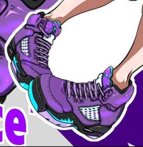 AIR JORDAN5 RETRO Grape Ice